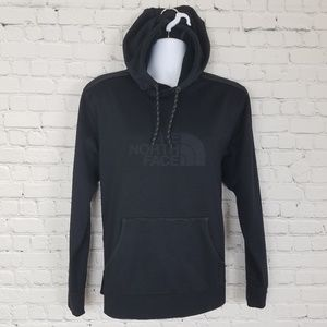 Black North Face Hoodie w/Front Pouch Pocket, L